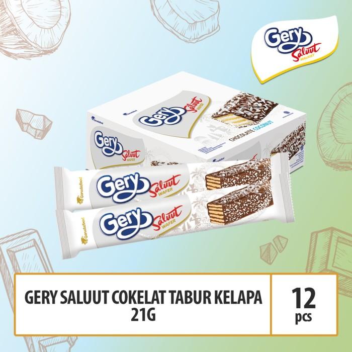 Foto Produk Gery Saluut Coklat Tabur Kelapa 21g (CSCC5) dari GarudaFood