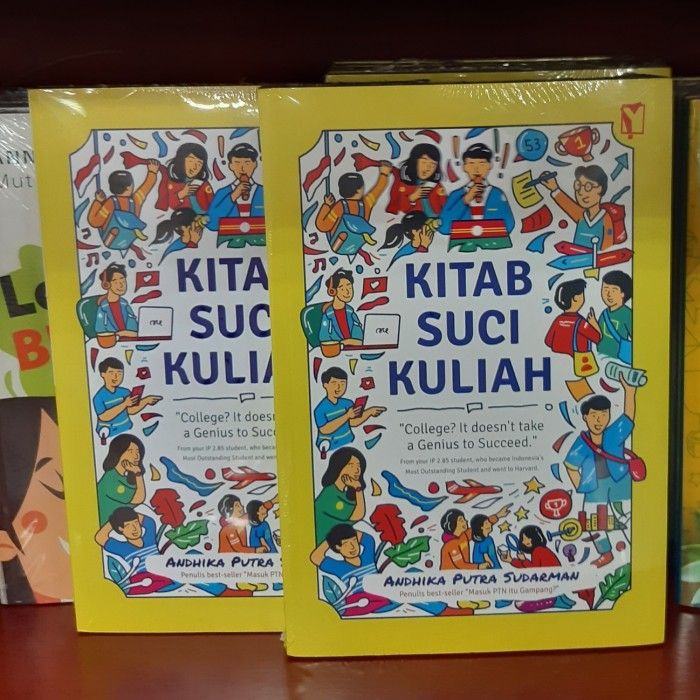 Foto Produk Buku Kitab Suci Kuliah Andhika Putra Sudarman dari Showroom Books