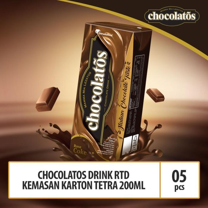 Foto Produk Chocolatos Drink RTD Kemasan Tetra 200ml - 5 Pcs dari GarudaFood