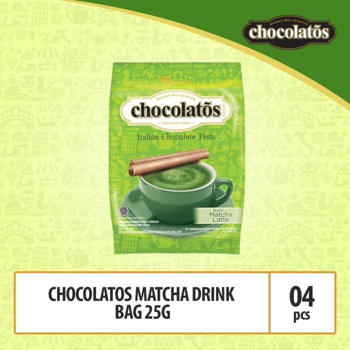 Foto Produk Chocolatos Matcha Drink Bag -25g (DACA7) dari GarudaFood