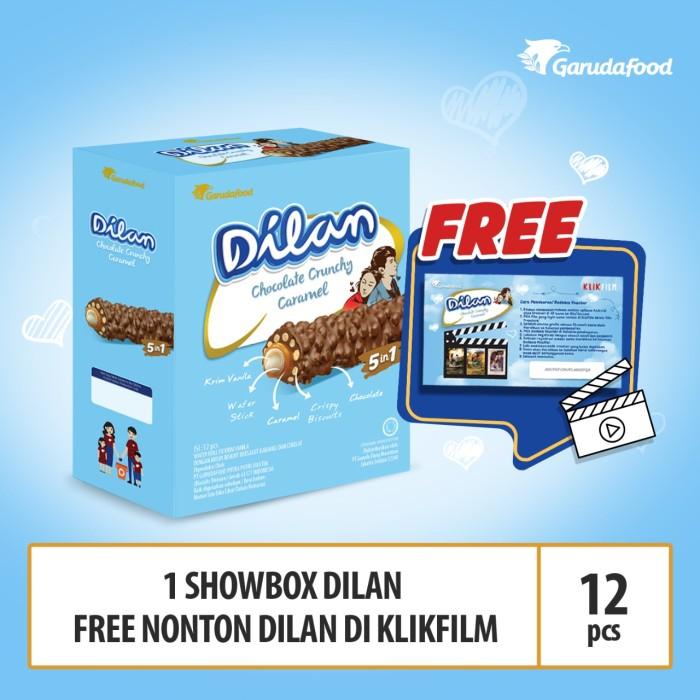 Foto Produk DILAN - Chocolate Crunchy Caramel FREE Voucher Klikfilm dari GarudaFood