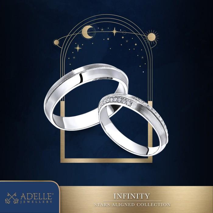 Foto Produk Adelle Jewellery - Infinity Wedding Ring - Cincin Pernikahan dari Adelle Jewellery