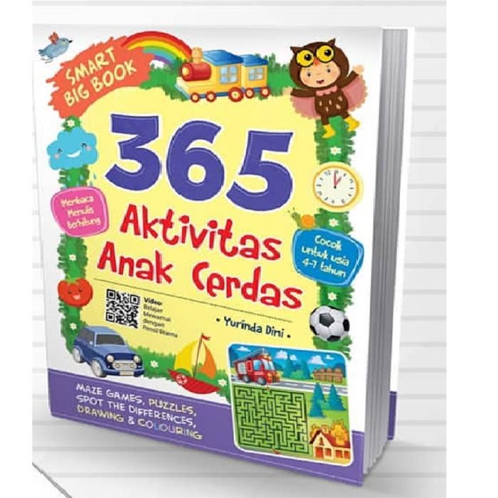 Foto Produk Buku Smart Big 365 Aktivitas Anak Cerdas Yurinda Dini Cikal Aksara dari Sahabat Buku Anak