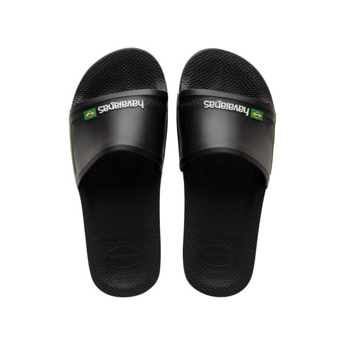 Foto Produk Havaianas Slide Brasil - Sandal Pria - Hitam, 43-44 dari Havaianas Official Shop