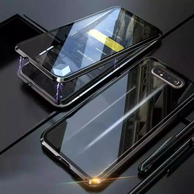 Foto Produk Samsung A80 double side magnetic case - Hitam dari importking