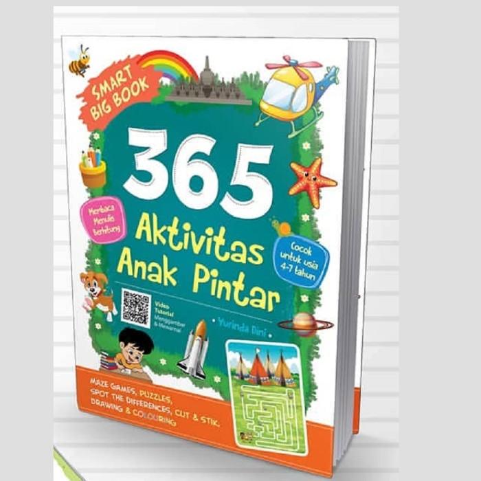 Foto Produk Buku Smart Big Book 365 Aktivitas Anak Pintar Yurinda Dini Cikal Aksar dari Sahabat Buku Anak