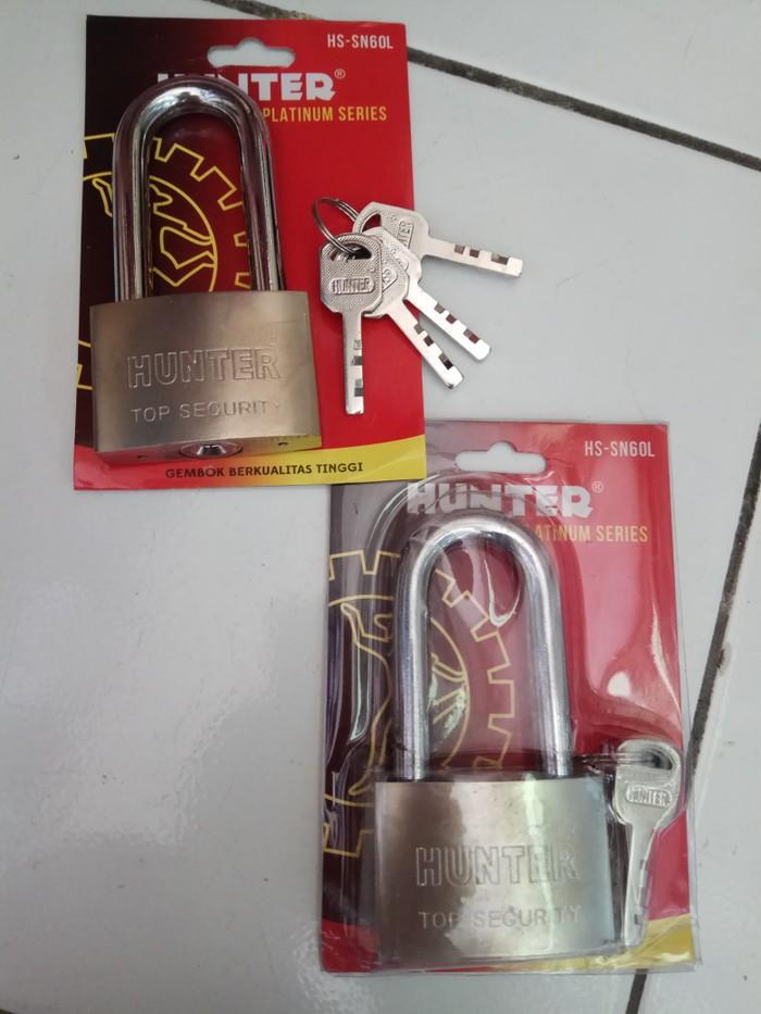 Foto Produk Gembok Hunter Leher Panjang Ukuran 60 dari good_price store 2