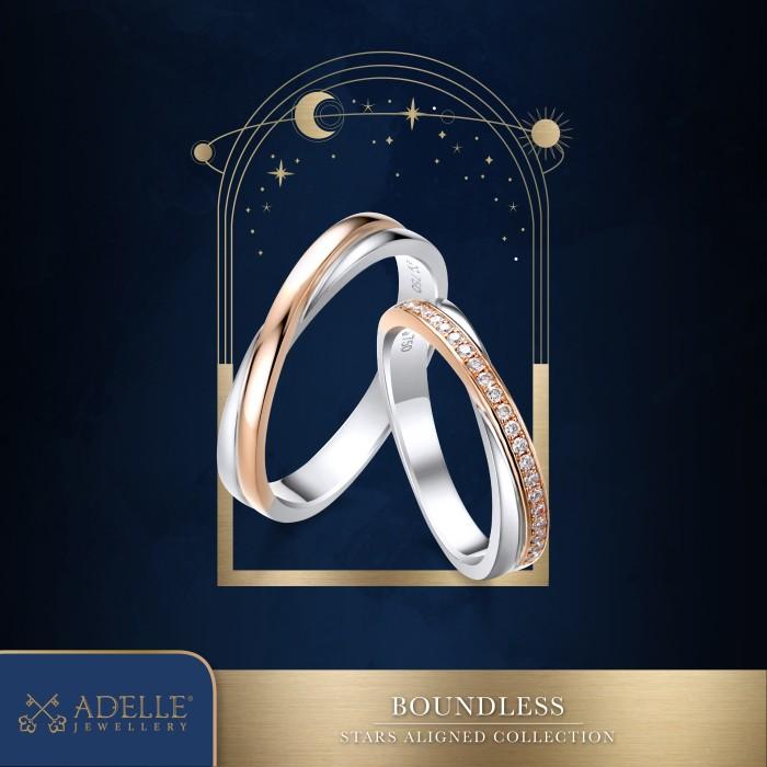 Foto Produk Adelle Jewellery - Boundless Wedding Ring - Cincin Pernikahan dari Adelle Jewellery