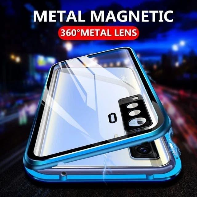 Foto Produk Vivo X50 pro double side magnetic case - Hitam dari importking