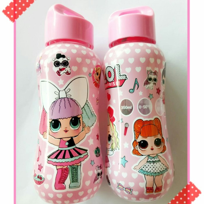 Foto Produk botol minum anak botol dot karakter LOL SURPRISE lol surprise dari recht shop