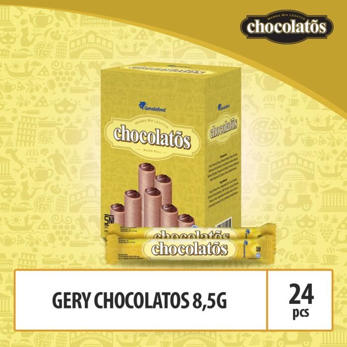 Foto Produk Gery Chocolatos 8.5g - Showbox Isi 24 Pcs (WCG4) dari GarudaFood