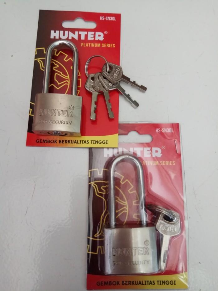 Foto Produk Gembok Hunter Leher Panjang Ukuran 30 dari good_price store 2