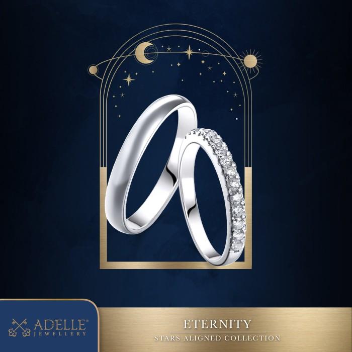 Foto Produk Adelle Jewellery - Eternity Wedding Ring - Cincin Pernikahan dari Adelle Jewellery