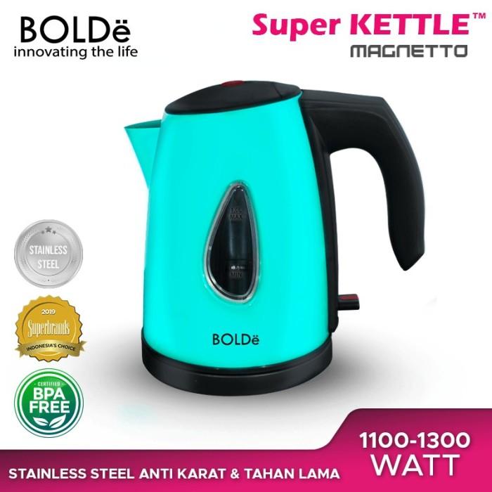 Foto Produk BOLDe Teko Listrik Stainless 1 Liter - SUPER KETTLE MAGNETTO - Tosca dari UTAMA_ELECTRONIC