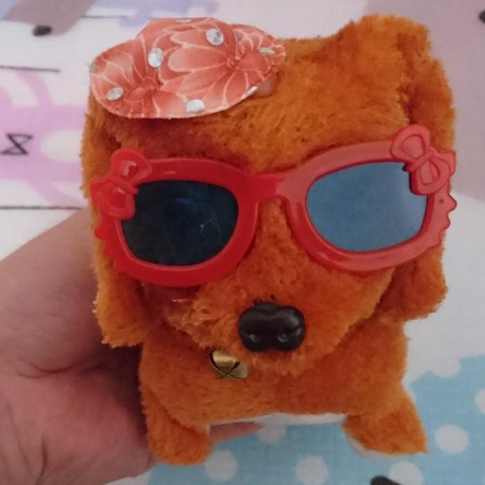 Foto Produk Mainan Anak Anjing Bisa Berjalan Dan Bunyi - Coklat Tua dari good_price store 2