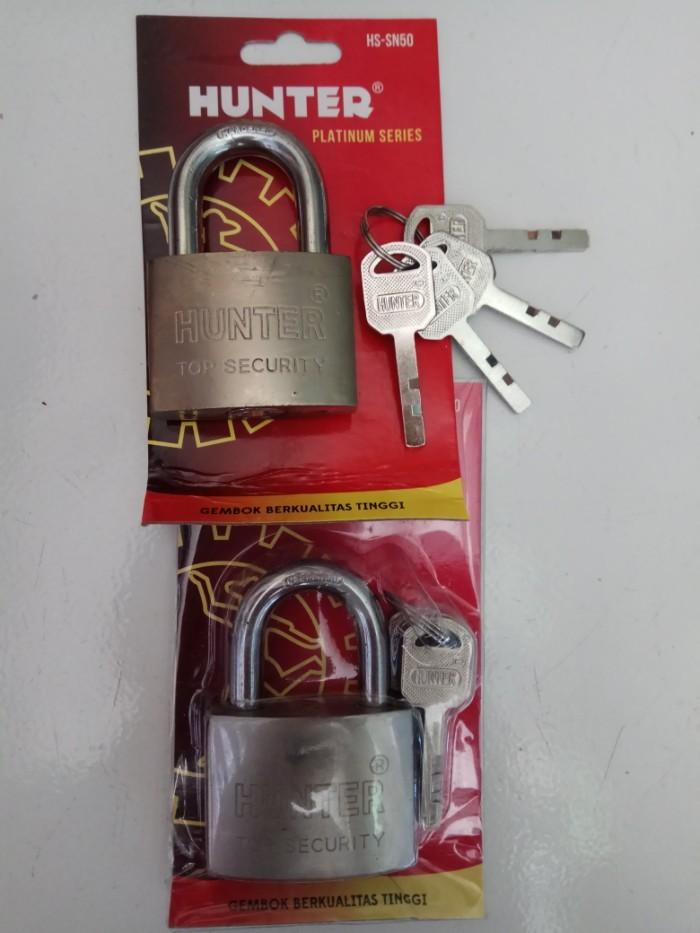 Foto Produk Gembok Hunter Leher Pendek Ukuran 50 dari good_price store 2