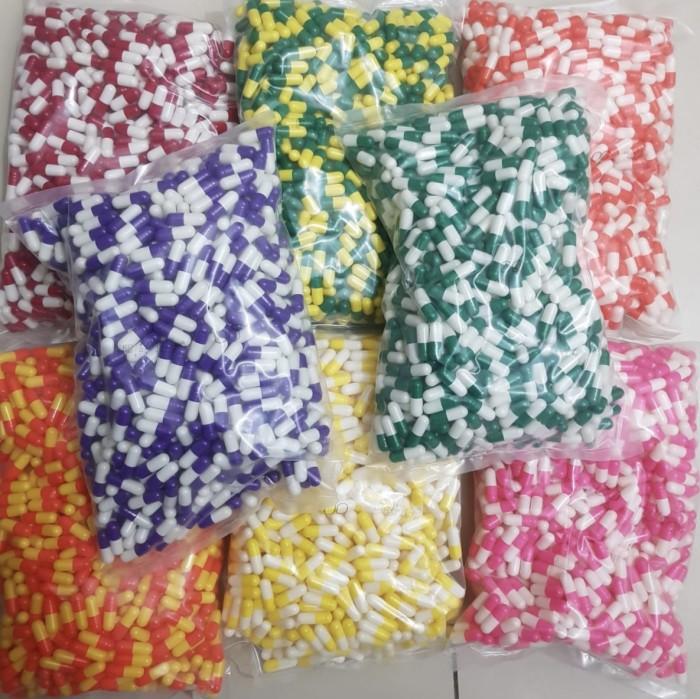 Foto Produk Kapsul Kosong ukuran 00 / Capsule INDO no. 00 isi 1.000 pcs dari Gudang Sehat Store