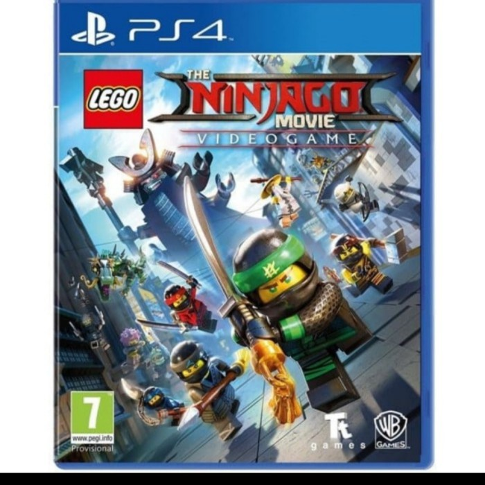 Jual Ps4 Games Ninjagi Movie New Jakarta Pusat Jw Game Tokopedia