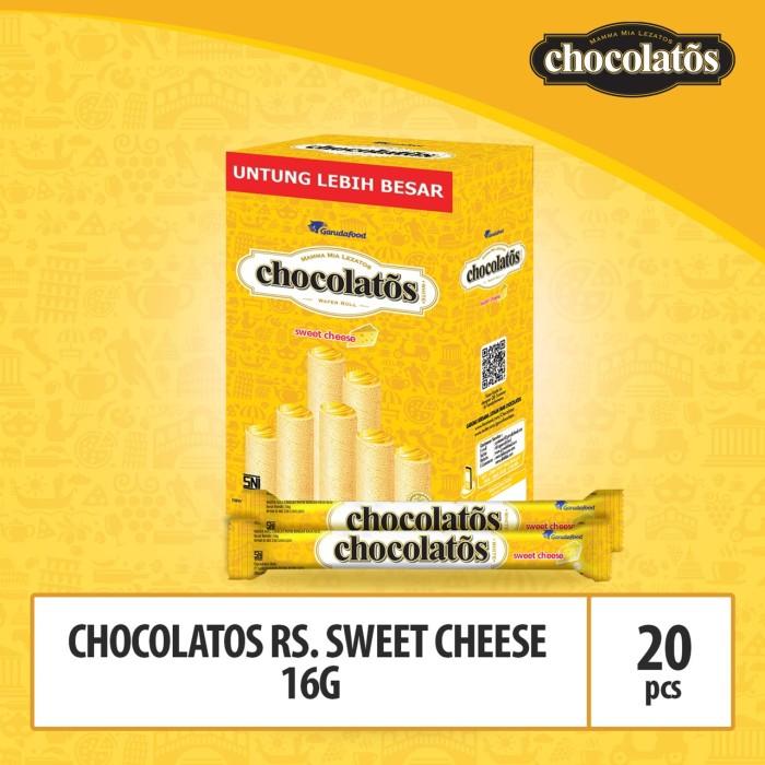 Foto Produk CHOCOLATOS WHITE Sweet Cheese- 16gr (WJU8) / Showboks dari GarudaFood