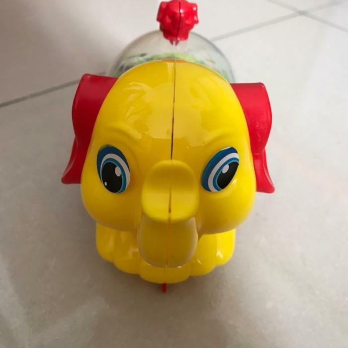 Foto Produk Mainan Gajah Tarik Berjalan Dan Lampu Menyala - Kuning dari good_price store 2