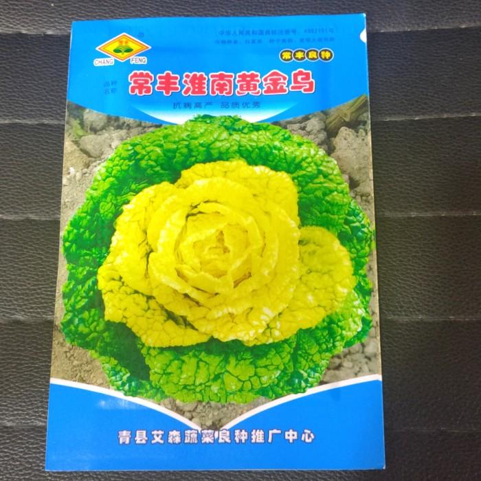 Foto Produk Biji benih bibit yellow heart cabbage wuta tsai dari Biji Benih