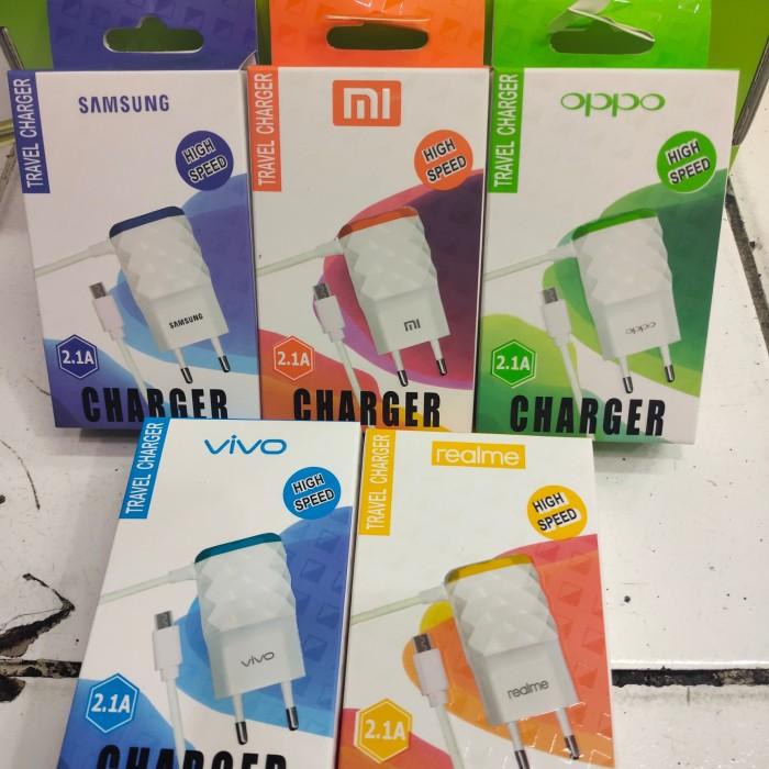 Foto Produk Charger Xiaomi Diamond 2.1A Casan Xiaomi Diamond 2 Usb Charger Motif dari vivan cell