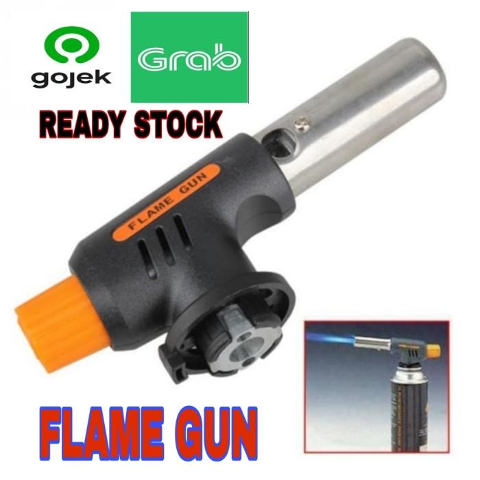Foto Produk Portable Gas Torch / BBQ Blow Torch / Flame Gun / Korek Api 807 dari GG outlet