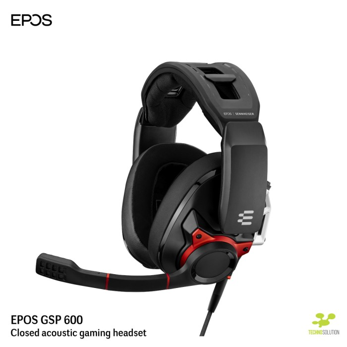 Foto Produk EPOS - GSP 600 Closes Acoustic Gaming Headset dari EPOS Official Store