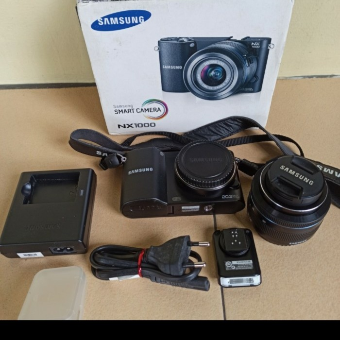 Foto Produk Samsung mirrorless NX1000 20MP NX SMART Digital Wifi dari Supernova Computer Ariet