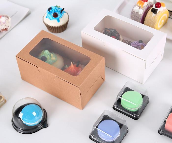 Foto Produk KOTAK cupcake mika 16cm . kotak coklat , kotak hadiah , kotak zakka - Putih dari KAYO