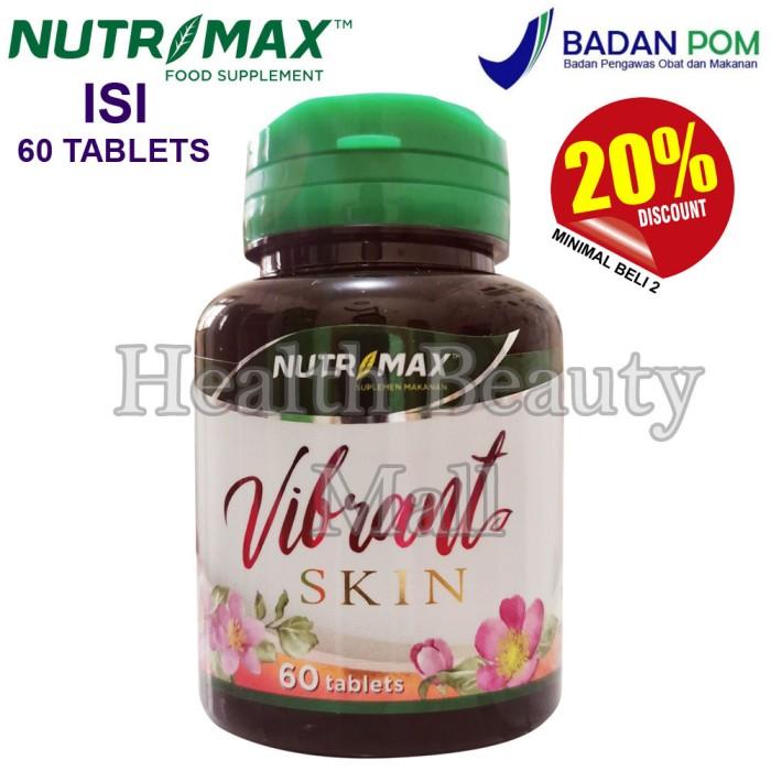 Foto Produk Nutrimax Vibrant Skin 60 tabs - Vitamin Kolagen Collagen Colagen dari Health Beauty Mall