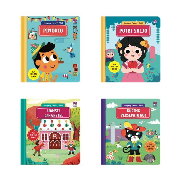 Foto Produk Dongeng Favorit PAUD Pinokio Putri Salju Hansel Greetel Kucing dari Showroom Books