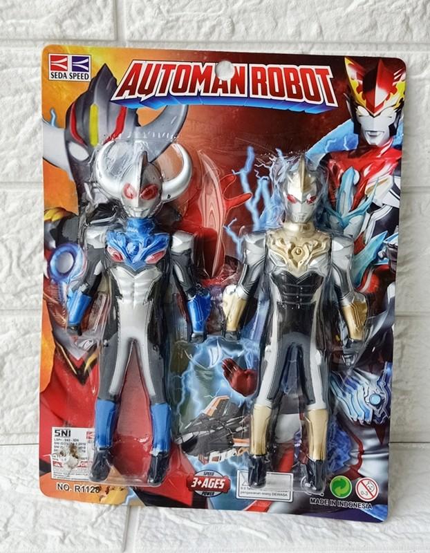 Foto Produk Mainan Robot Ultraman Automan Robot No. R1128 dari ANEKA MAINAN ONLINE