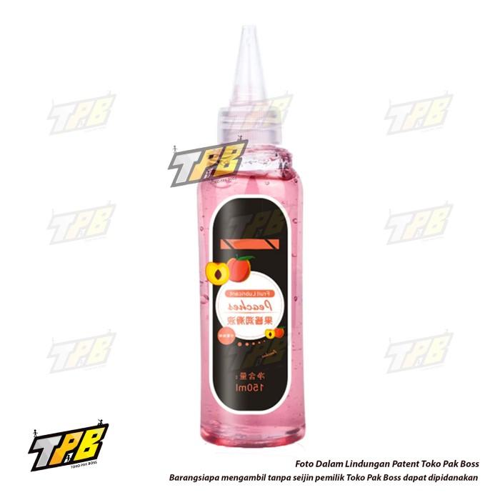 Foto Produk Original SK Fruit Lubricant Pelumas 150ml Water Based Lube Rasa Buah - Peach dari TOKO PAK BOSS