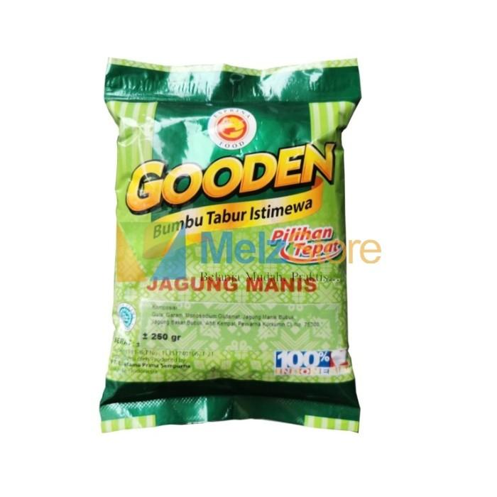 Foto Produk Gooden Bumbu Tabur Jagung Manis 250gr dari MelzCorp