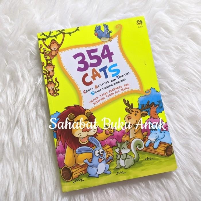Foto Produk Buku Anak Islami 354 Cats Cerita Aktivitas Teka-teki Silang Binatang dari Sahabat Buku Anak