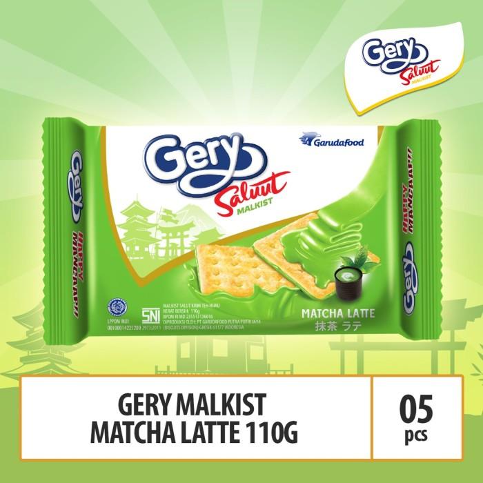 Foto Produk Gery Saluut Malkist Matcha Latte - 110g (MACA2) 5 Pcs By Garudafood dari GarudaFood