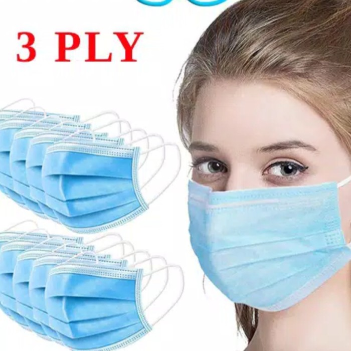 Foto Produk masker medis 3 ply earlop isi 10pcs dari AUTO KID II