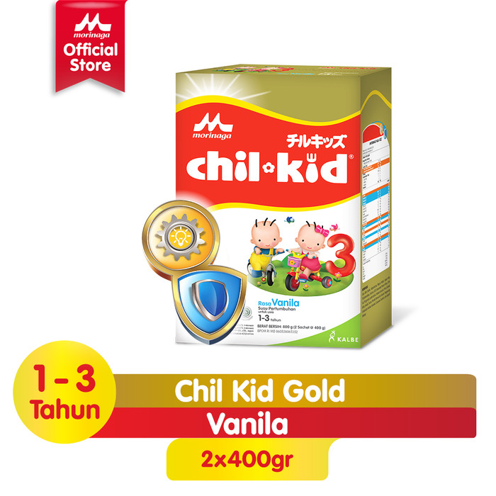 Foto Produk Chil Kid Gold Vanilla 800gr dari Morinaga Official Shop