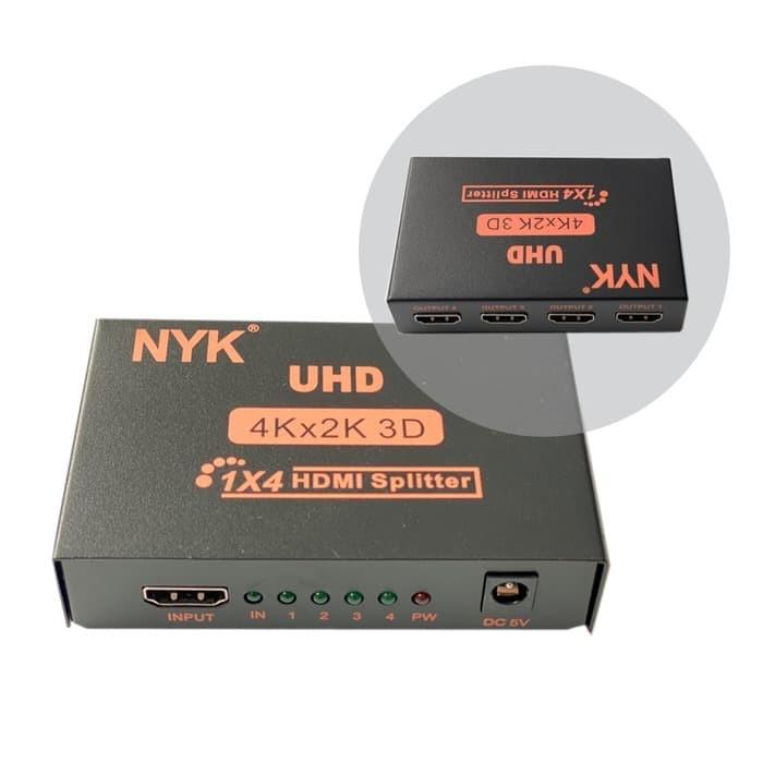 Foto Produk HDMI Splitter NYK 1-4 port NYK dari PojokITcom Pusat IT Comp