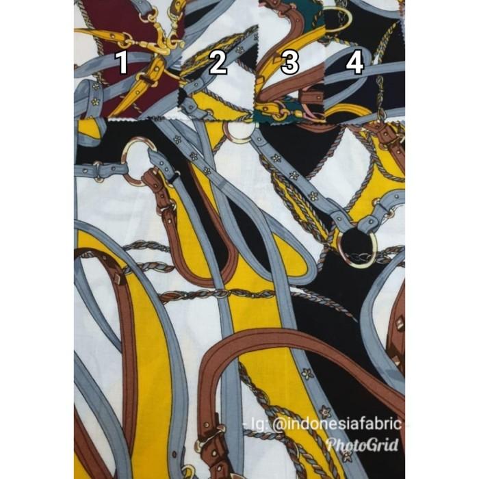 Foto Produk Kain Bahan Daster Homedress Gamis Kain rayon motif Sultan 5 dari Toko Kain Grosir