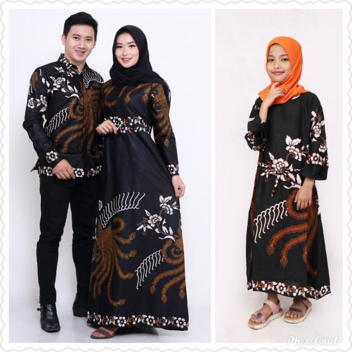 Foto Produk Baju dress jumbo couple keluarga batik sarimbit kemeja & gamis anak dari TABASAMA