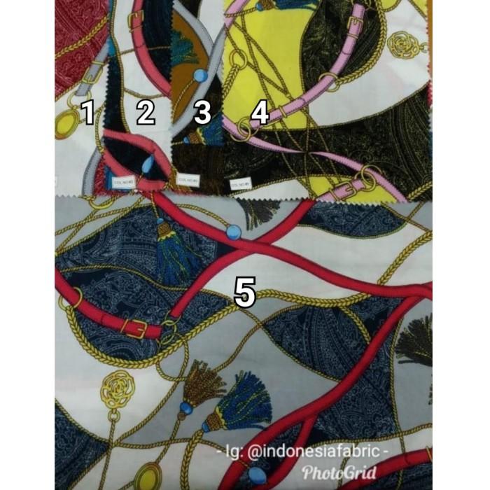 Foto Produk Kain Bahan Daster Homedress Gamis Kain rayon motif Sultan 6 dari Toko Kain Grosir