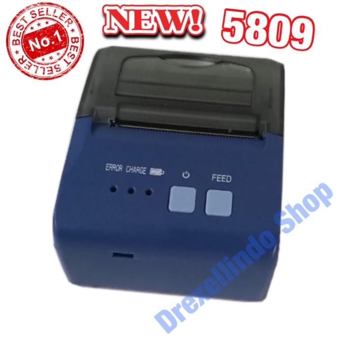 Foto Produk Printer thermal bluetooth 5809 Polos dari drexellindo shop