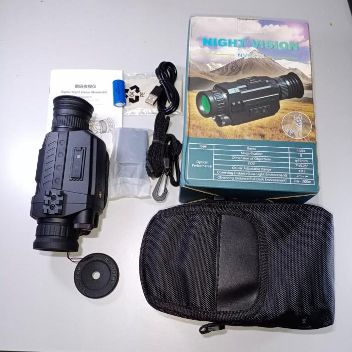 Foto Produk WG535 N0T WG540 DIGITAL NIGHT VISION MONOCULAR 5X35 DayNight Recording dari DO OFFICIAL STORE