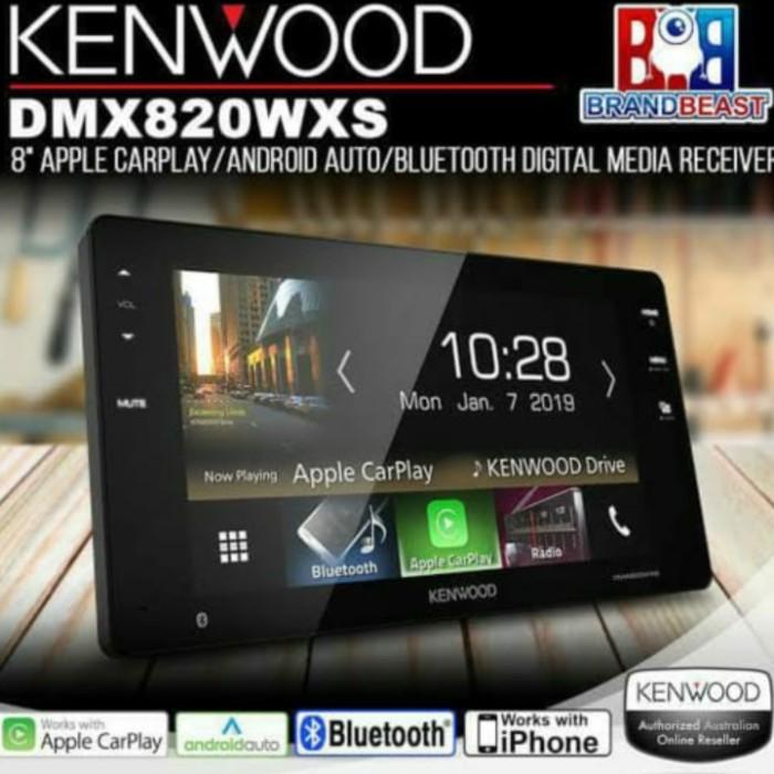 "Foto Produk HEAD UNIT KENWOOD DMX-820 WXS 230mm/8""LCD for TOYOTA FORTUNER/INNOVA R dari Ace Metro"