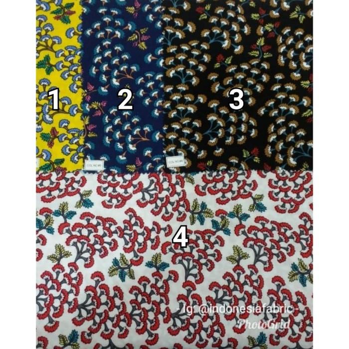 Foto Produk Kain Bahan Daster Homedress Gamis Kain rayon motif Bunga Mimosa dari Toko Kain Grosir
