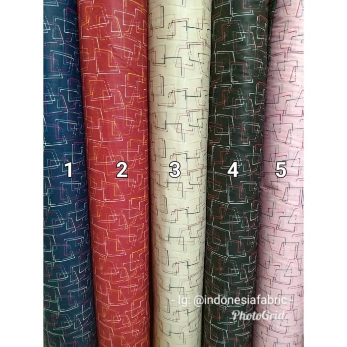 Foto Produk Kain Katun Jepang Tokai senko motif Shikakkei - Nomor 2 dari Toko Kain Grosir