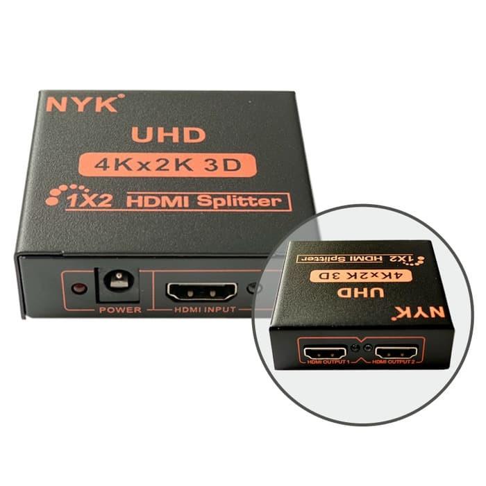 Foto Produk HDMI Splitter 1-2 Port NYK dari PojokITcom Pusat IT Comp