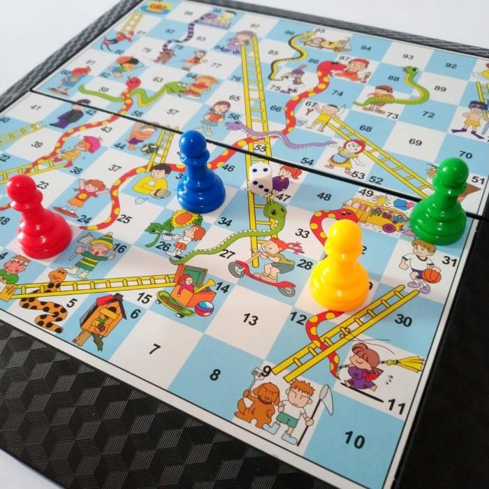 Foto Produk Mainan Ular Tangga Game Board Anak Family Games Keluarga Snake dari Gajah Jumbo Babykid Shop